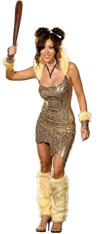Cave Woman Costume,$58.99
