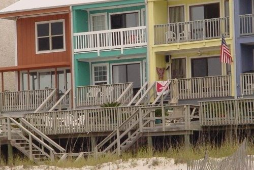 Panama City Beach Florida Vacation Rentals - Private Beachfront Townhouse