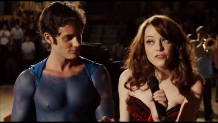 """Easy A  """"Knock On Wood"""" :D!  LOve this Effin movie"""