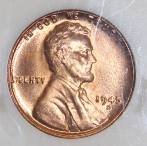 1945 D Ngc Graded Ms 67 Rd Lincoln Cent Mothers Coins And Eyes