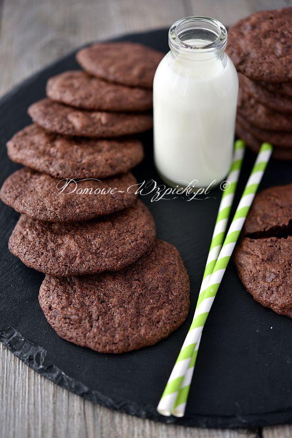 Bezglutenowe ciasteczka mocno czekoladowe