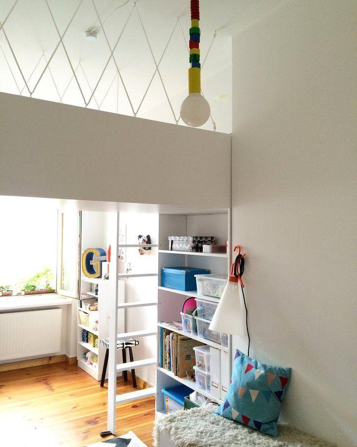 Jungenzimmer mit Galerie