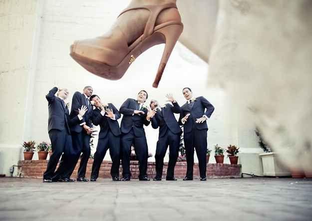 Das Hochzeitsfoto der anderen Art! #wedding #weddingphotos #braut #kreativ