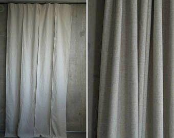 Tratamiento algodón cortina panel cáñamo natural cortina ventana cortinas beige de paño beige eco-amigable ventana cortina natural