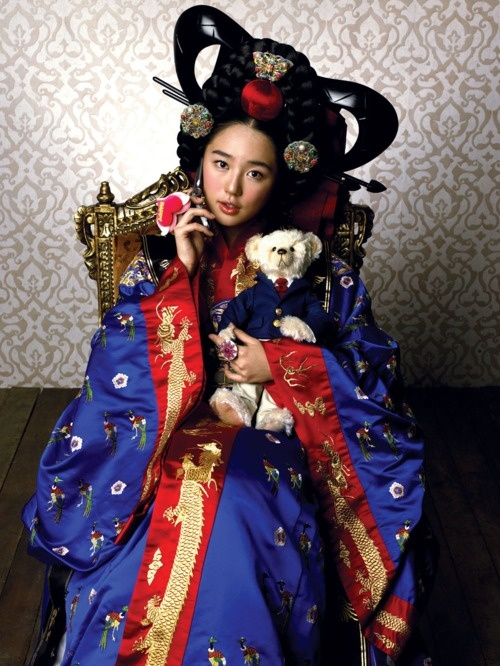 ...Yoon Eun Hye, my first favorite Korean actress in my first favorite Korean drama -- Princess Hours...