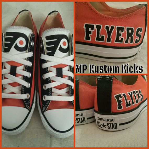Check out this item in my Etsy shop https://www.etsy.com/listing/203206058/philadelphia-flyers-airbrushed-and-hand