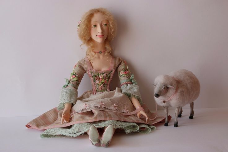 """Абель. Французская пастушка"" • Dolls Collection by Evgenia Egorova on Kolektado"