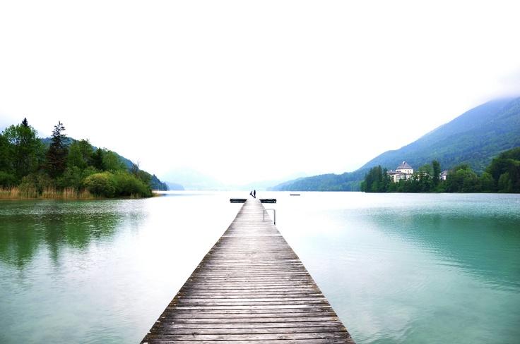 I want to get married by this lake. Fuschl Village, Salzbur,Austria. #Devika Narain