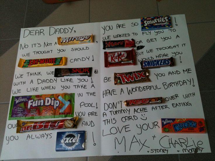 happy birthday candy card canadian candy | birthdays ...