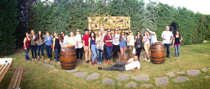 #Friends during Annual #Harvest #Party. #torciano #winery #wine