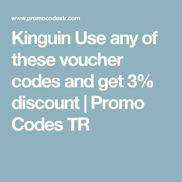Kinguin Use any of these voucher codes and get 3% discount | Promo Codes TR