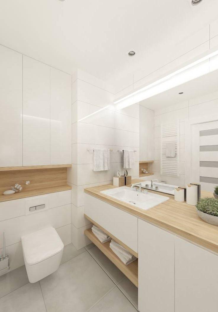 Baños de estilo Escandinavo por 4ma projekt
