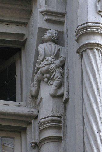 Le père Tricouillard - La maison d'Adam à Angers