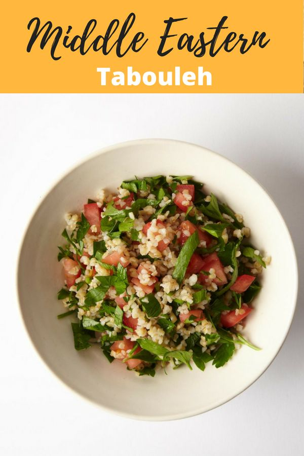 Middle Eastern Tabouleh