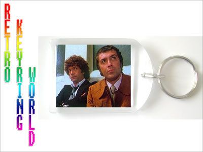 THe Professionals  bodie and doyle retro UK TV Keyring free UK P - Retro TV keyring / keychain. ONLY  £1.99 Low cost Worldwide shipping