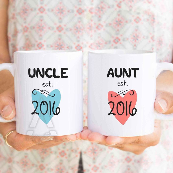 aunt pregnancy announcement, aunt est, uncle est, pregnancy reveal coffee mug, aunt cup, gifts for aunts, aunt to be, aunt mug, gift MU328 by artRuss on Etsy