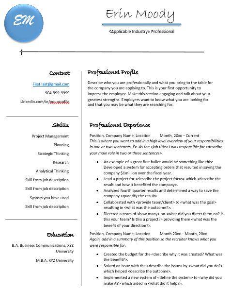 47 best Resume help images on Pinterest Resume ideas, Resume - help resume