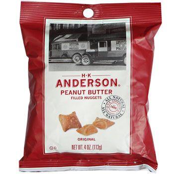 H.K. Anderson Peanut-Butter-Filled Pretzel Nuggets, 4 oz.