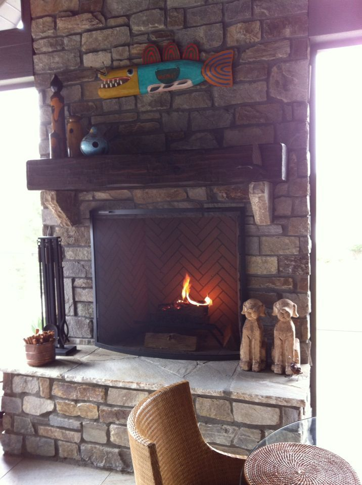 Prefabricated Wood Burning Fireplaces Patio And Indoor In 2020