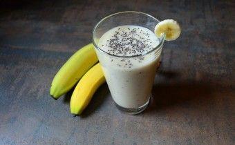 Svieže ovocné smoothie s chia semienkami!