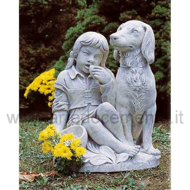 statua da giardino decorativa