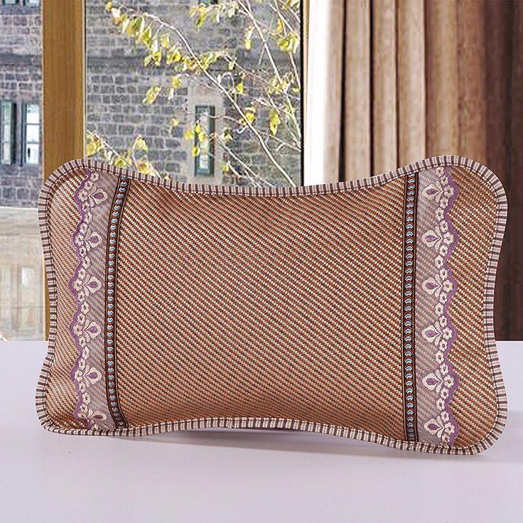 Single cool pillow summer rattan pillow viscose fiber cool pillow