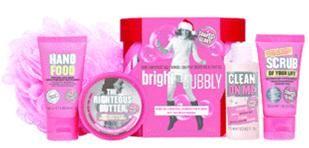 Soap & Glory Bright & Bubbly Price: $25