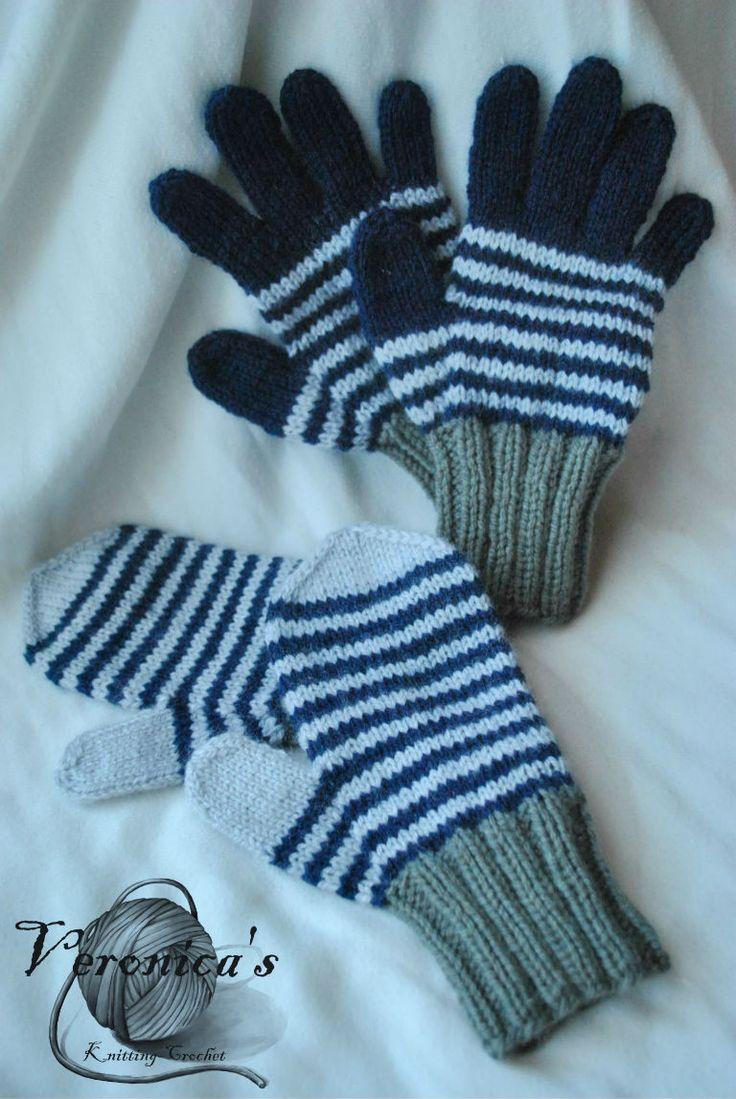 Γάντια με πολύχρωμα για αγόρια