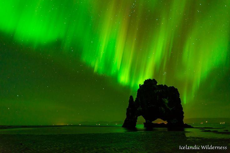 Hvítserkur by night | by The Nature Guy