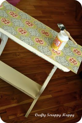 Maybe Matilda: Dress Up a Tabletop with Jaime of Crafty Scrappy Happy!