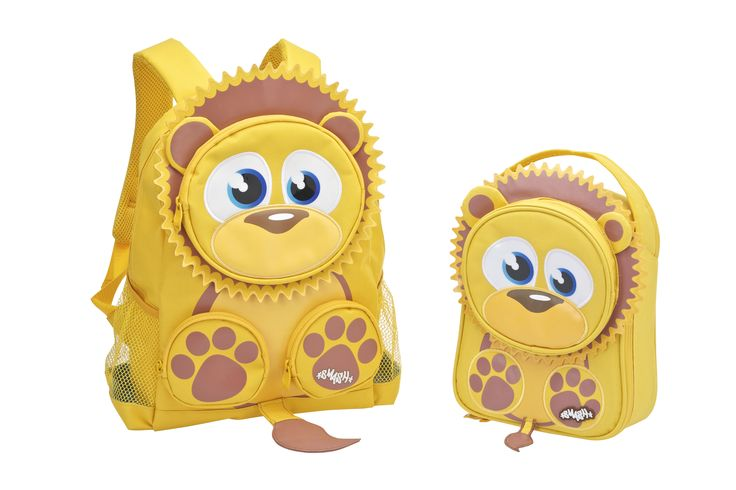 Lion Backpack and Lunch Bag