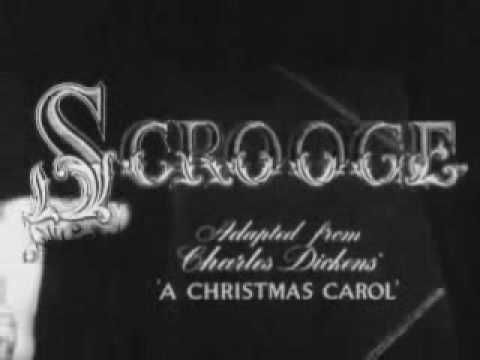 "Scrooge ""A Christmas Carol"" (1951) Original Movie Trailer with Alastair Sim.  Daddy always made sure to watch this with us every Christmas.  Daddy & I both tried to read the book, but found it hard to read old English."