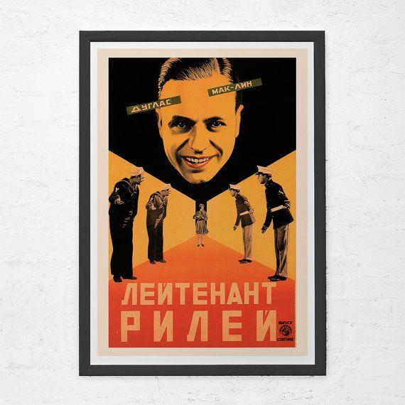 RUSSIAN AVANT GARDE Poster Russian Constructivism Art Print