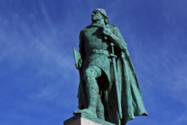 Leif Erikson Day (October 9) honors a viking explorer known as Leif Erikson. He is believed to be the first recorded Nordic person to have visited the area that is now the United States. It is believed that he visited Baffin Island and Labrador around 1000 CE.