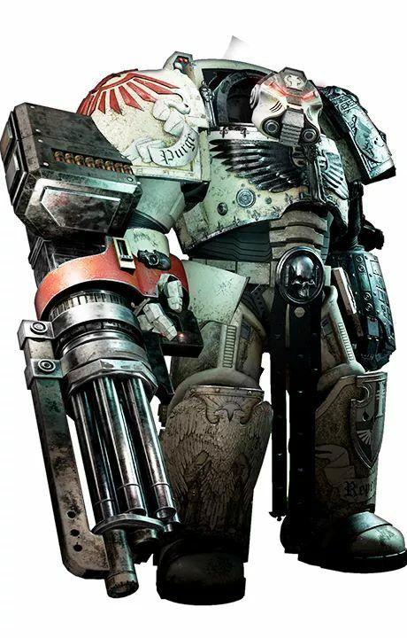 Warhammer 40k Deathwing Terminator Assault Cannon