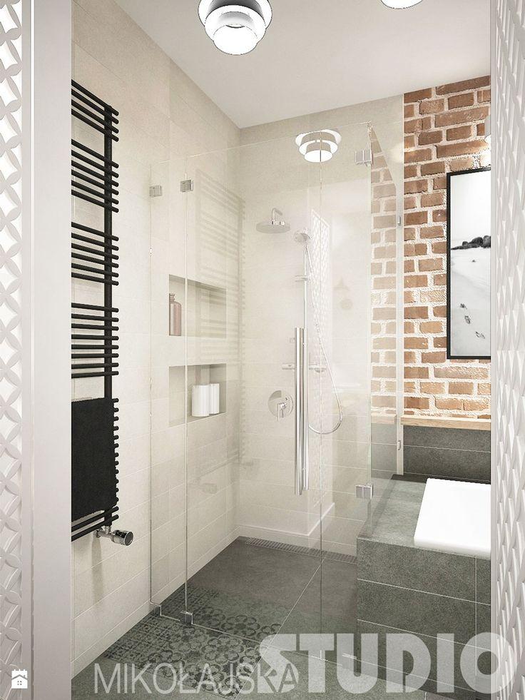 Łazienka, styl industrialny - zdjęcie od MIKOŁAJSKAstudio