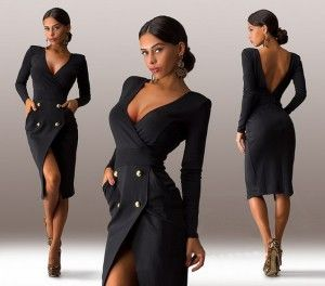 Wear a black dress with passion! <3