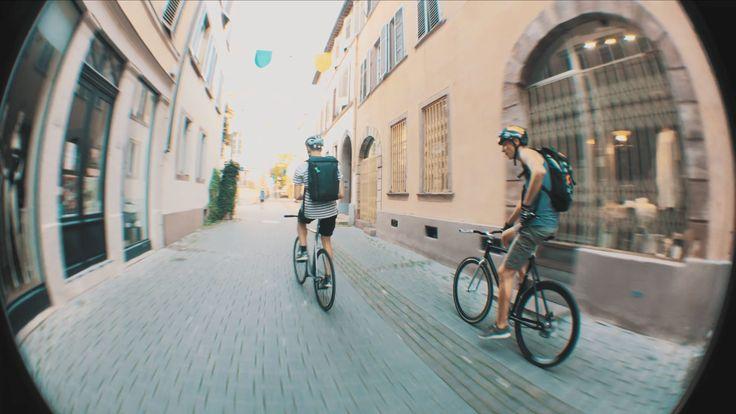 Vidéos Fixed Gear dans les rue de Strasbourg en 4K | Fixie Singlespeed, infos vélo fixie, pignon fixe, singlespeed.