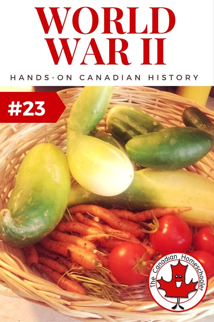 Hands On Canadian History: World War II - Victory Garden