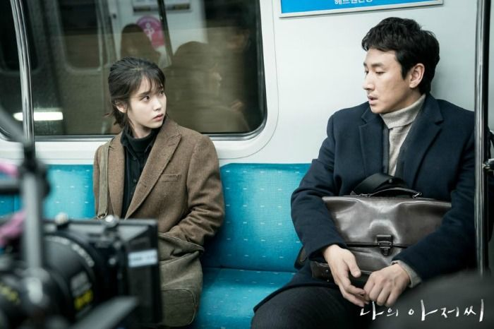Behind The Scenes For The Drama My Ajusshi My Mister Starring Iu Lee Ji An And Lee Sun Kyun Drama Mister Lee Sun Kyun