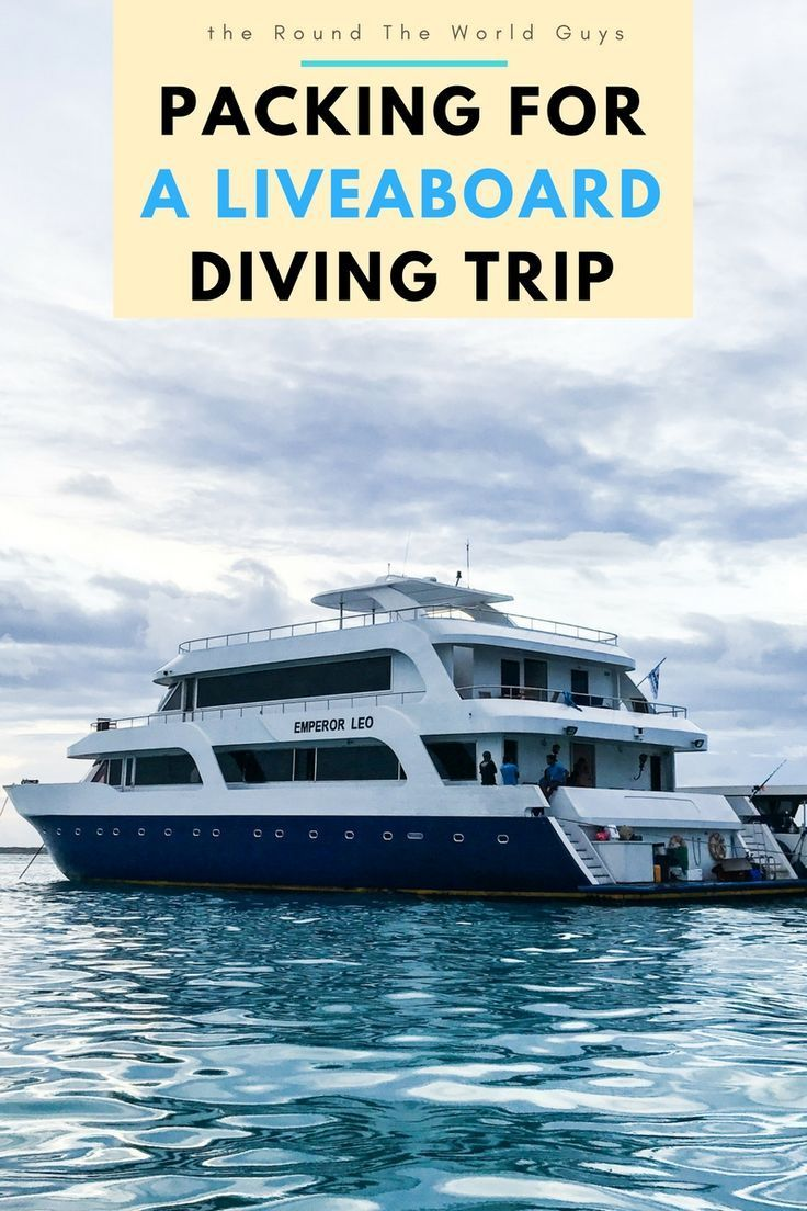 Liveaboard diving is one of the very best ways to experience SCUBA Diving at its best. We thought it would be helpful to write a post on packing for a liveaboard for first timers.