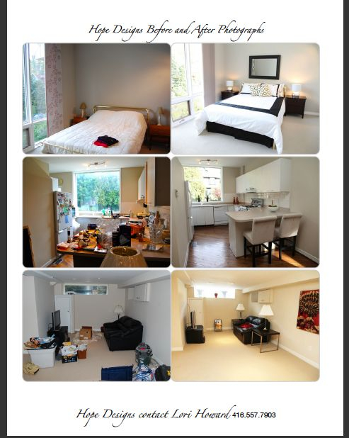 Before And After Staging Staging Homes For Sale Pinterest