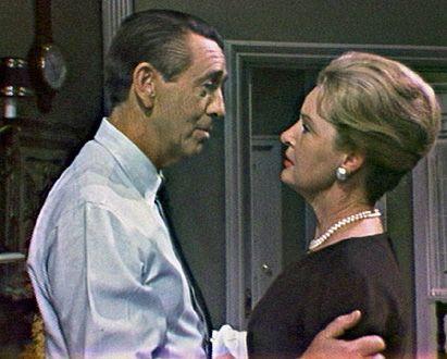 MacDonald Carey as Tom Horton and Frances Reid as Alice Horton