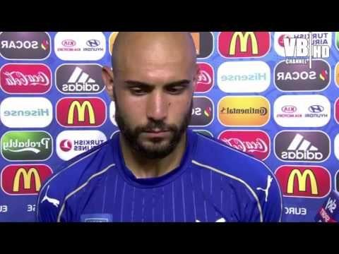 Italia-Svezia 1-0: Intervista a ZAZA