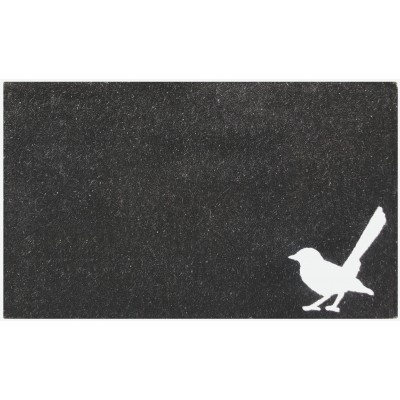 Interiors Online - Willy Wagtail Doormat. Cute.