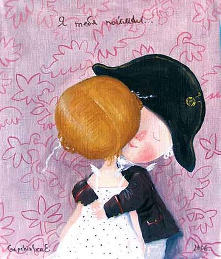 Yevhenia Gapchynska - brilliant modern ukrainian artist and children books illustrator