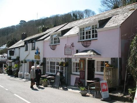 Polperro is one of the prettiest and most famous villages in Cornwall.