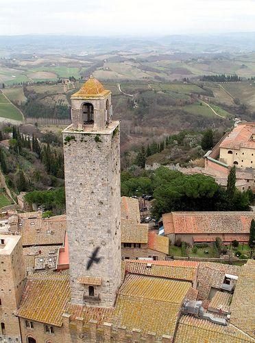 San Gimignano - La torre Rognosa