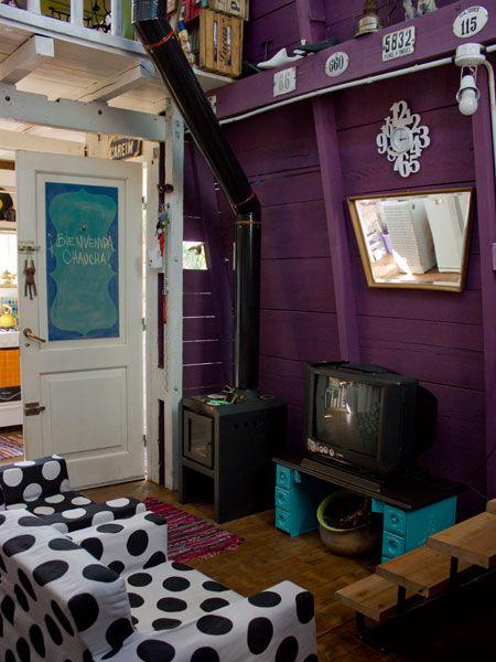 Casinha colorida: Chez Micaela