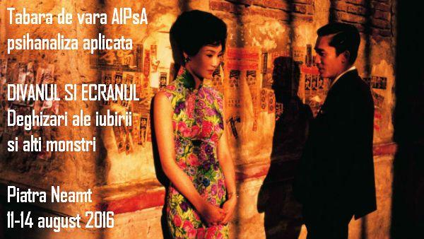 Cafe Gradiva: Tabara de vara AIPsA: Divanul si ecranul. Deghizar...